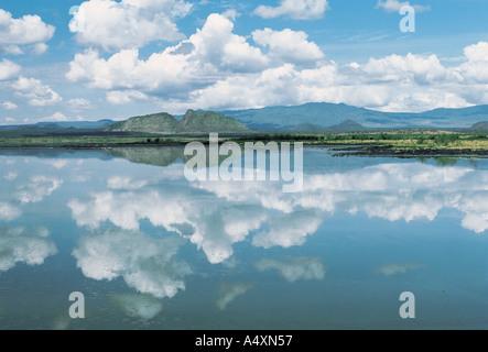 Lake Baringo Kenia in Ostafrika - Stockfoto