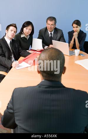 Kollegen in einem meeting - Stockfoto