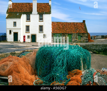 pittenweem hafen fife schottland mit east shore road und h user stockfoto bild 51047209 alamy. Black Bedroom Furniture Sets. Home Design Ideas