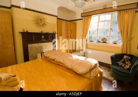 renoviertes art deco jugendstil 1930 s haus innen lounge wohnzimmer stockfoto bild 11280144. Black Bedroom Furniture Sets. Home Design Ideas