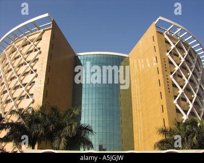 MGM102831 Cyber-Türme bauen Hyderabad Andhra Pradesh, Indien - Stockfoto