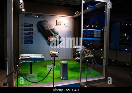 Hybridbauteile zeigen beim Toyota Auto Salon AMLUX Tokyo Japan, Asien - Stockfoto