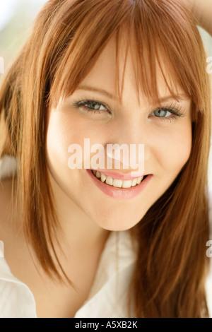 Attraktives Mädchen Porträt - Stockfoto
