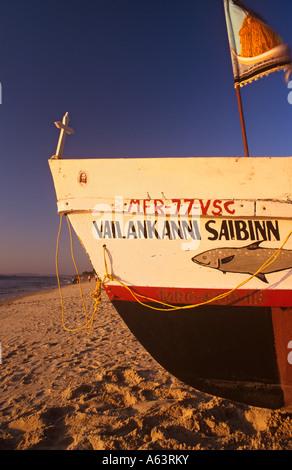 Bug des Bootes Benaulim Goa Indien - Stockfoto