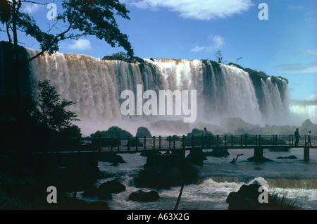 Iguacu fällt Bundesstaat Parana, Brasilien - Stockfoto