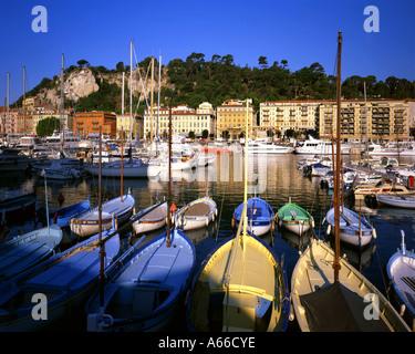 FR - COTE d ' Azur: der Hafen von Nizza - Stockfoto