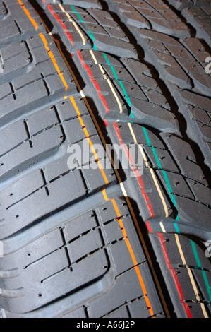 Neue Reifen Stockfoto