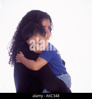 Mutter und Sohn - Stockfoto