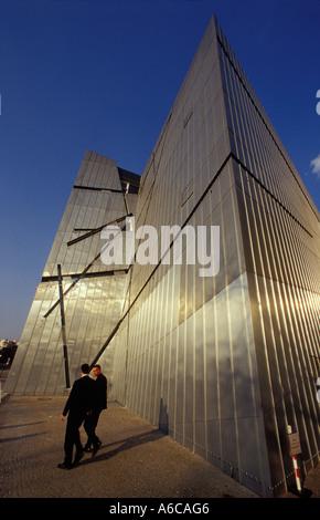 Juedisches Museum in Berlin. Jüdisches Museum in Berlin von dem Architekten Daniel Libeskind. - Stockfoto