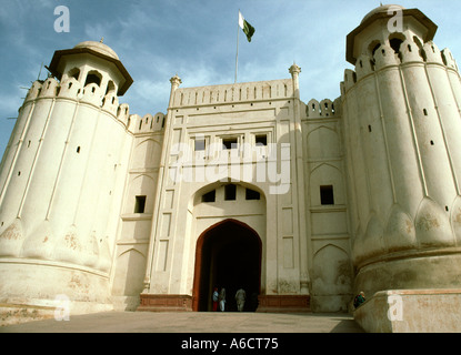 Pakistan Punjab Lahore Lahore Fort gateway - Stockfoto