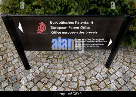 Europäischen Patentamt, München, Bayern, Deutschland