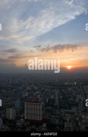 Bangkok-Sonnenuntergang C - Stockfoto