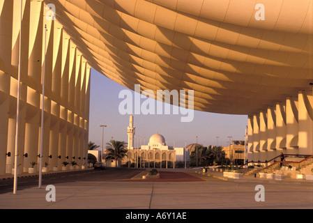 Kuwait-Stadt-Blick vom National Assembly building - Stockfoto