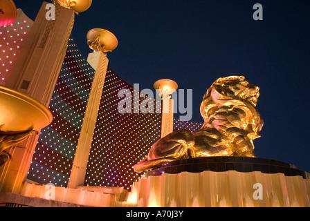 MGM Grand Hotel and Casino Las Vegas Nevada - Stockfoto