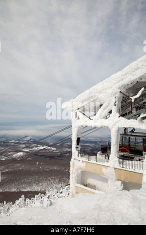 Seilbahn Skilift am Mount Verwaltungssitz, Aomori, Japan - Stockfoto