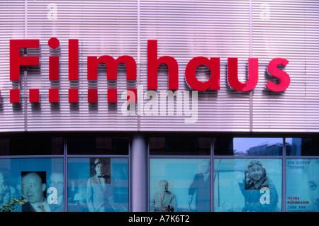 Filmmuseum am Potsdamer Platz, Berlin Deutschland - Stockfoto