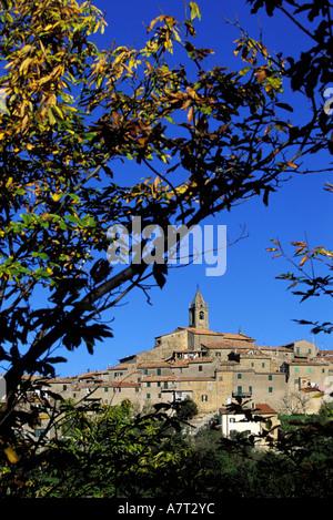 Italien, Toskana, Monticello Amiata in der Nähe von Monte Amiata - Stockfoto