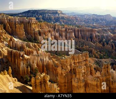 USA - UTAH: Bryce Canyon Nationalpark von Sunset Point gesehen - Stockfoto