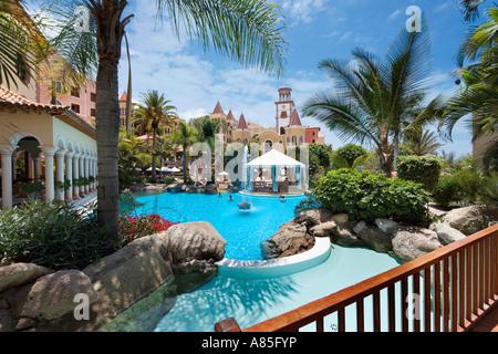 Gran Hotel Bahia del Duque Resort, Costa Adeje, Playa de Las Americas, Teneriffa, Kanarische Inseln, Spanien - Stockfoto