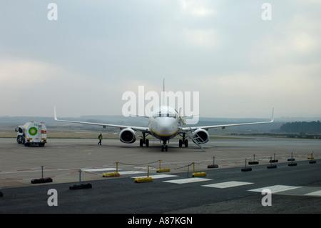 Ryanair Ankunft