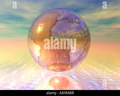 3D-Globus - Stockfoto