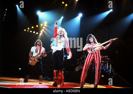 VAN HALEN - US-Rock-Gruppe - Stockfoto