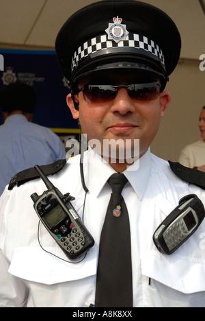 Britischen Transport-Polizist - Stockfoto