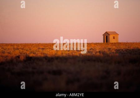 Verlassene Hütte Outback Australien - Stockfoto