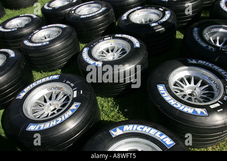 Michelin Reifen Australian Formula One Grand Prix 01 02 04 06 Albert Park Melbourne Australien - Stockfoto