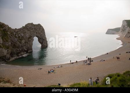 Durdle Door Strand Dorset UK - Stockfoto