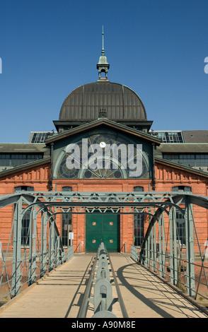 Der Hamburger Hafen Alten Lagerhalle An Der Fischmarkt Altona Hamburg Stockfoto Bild