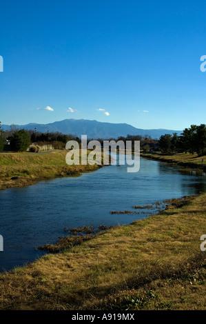 Mt LeConte großen rauchigen Mtns Little Pigeon River Sevierville - Stockfoto