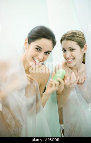 Mit Freund Duschen