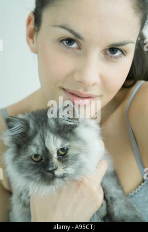 Single frau mit katzen