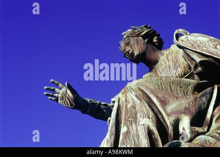 Die Statue des Eloquentia, Teil der Gedenkstätte Gladstone - Stockfoto