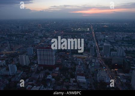 Bangkok-Sonnenuntergang D - Stockfoto