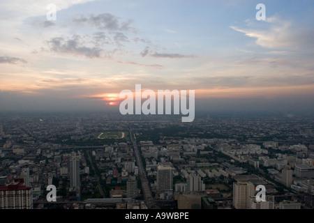 Bangkok Sunset E - Stockfoto