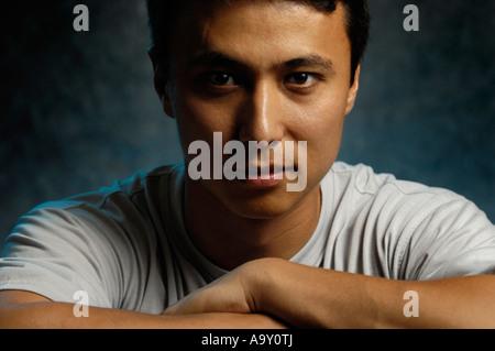 flache chested asiatische Bilder