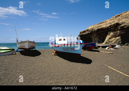 Spanien Kanarische Inseln Fuerteventura Puerto De La Pena - Stockfoto