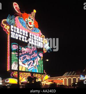 Circus Circus Casino, Las Vegas, Nevada, USA - Stockfoto