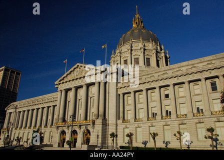 Civic Center Plaza San Francisco City Hall - Stockfoto