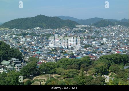 Blick auf die Stadt, Sendai - Stockfoto