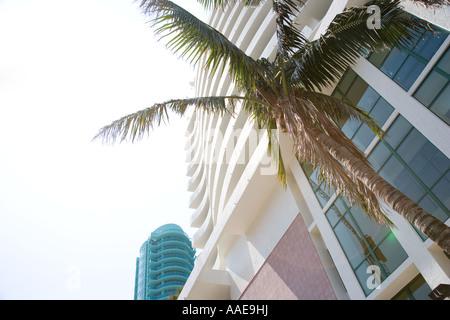 USA-Florida-Miami Beach-Collins avenue - Stockfoto