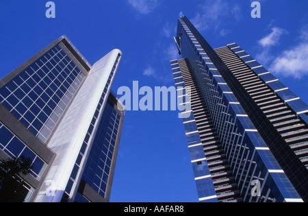 Eureka Tower rechts Melbourne Victoria Australien