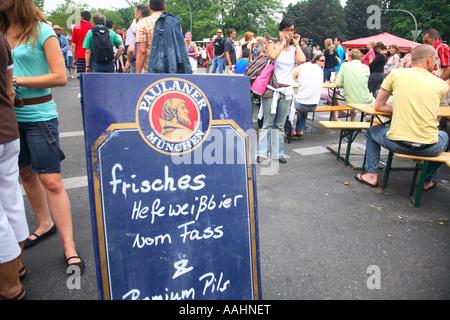 Reisefotografie aus Kreuzberg Karneval der Kulturen Karneval der Kulturen Berlin Deutschland - Stockfoto