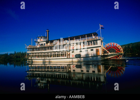Riverboat Discovery auf China River Alaska - Stockfoto