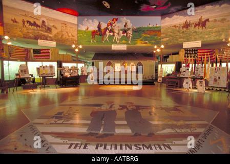 "Elk268 2039 Nebraska Aurora ""Plainsman"" Museum - Stockfoto"