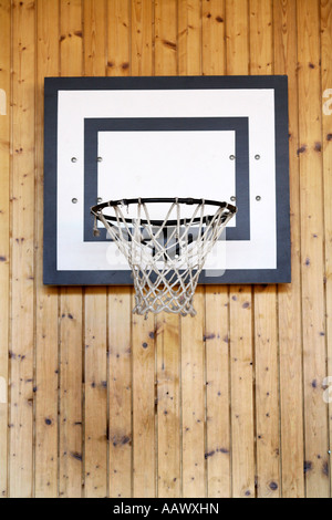 Basketballkorb - Stockfoto