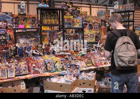 Check-out die Sammelobjekte Erinnerungsstücke NEC 26. und 27. Juli 2003 - Stockfoto
