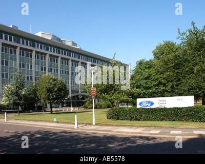 Bürogebäude der Ford Motor Company Warley Zentrale Brentwood Essex England Großbritannien - Stockfoto